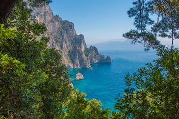 Aussicht in Capri