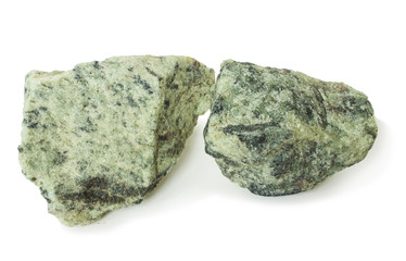 Two piece apatite ore, raw material for production of fertilizers