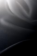 黒サテンドレープ