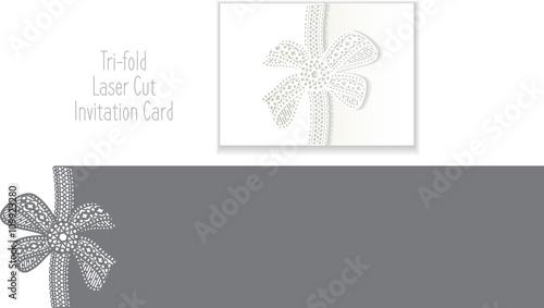 Tri fold laser cut invitation card laser cut pattern for tri fold laser cut invitation card laser cut pattern for invitation card for stopboris Choice Image