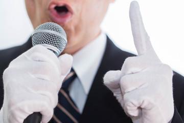 選挙演説 イメージ