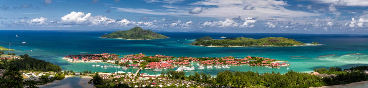 Seychelles Aerial, Eden Island and Inner Islands