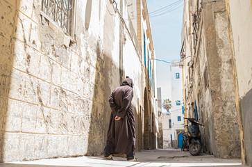 A street in Essaouira, Morocco