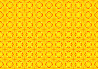 Yellow Background with Tiles