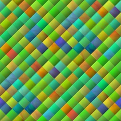 Background with diagonal squares