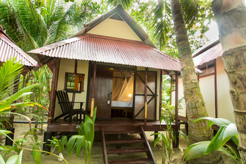 cabin or bungalow beach outdoors view