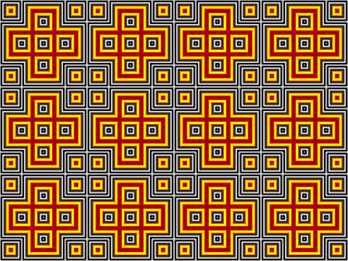 Bacground with Squared Pattern