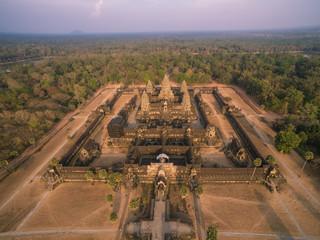 Angkor Wat aerial view (Cambodia)