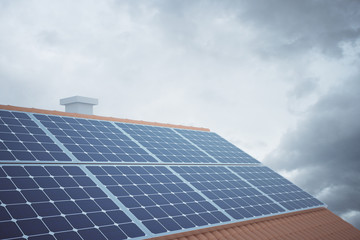 Solar panels side