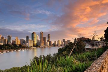 Australia Landscape : City of Brisbane