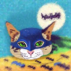 Cats superheroes. Batman