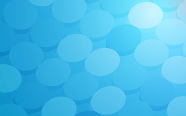 Scuba Blue Circle background abstract art vector
