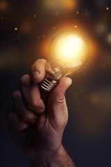 Creative energy and power of new ideas