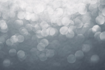 Abstract blurred background. White and grey background.  Bokeh. Wall mural