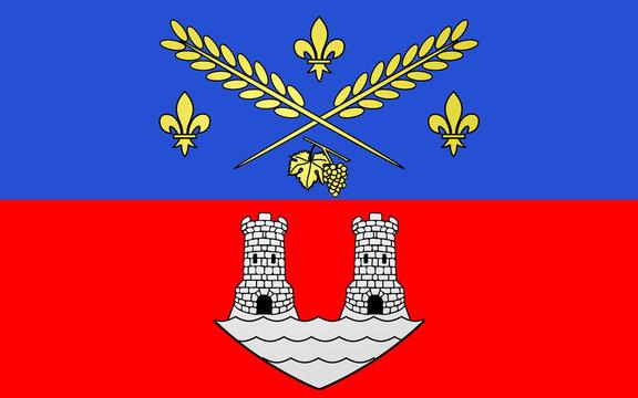 Flag of Nogent-sur-Marne, France