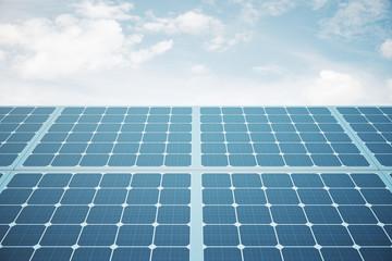 Solar panels front