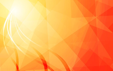 warm color background art abstract vector