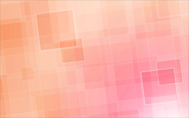 square pink color background abstract art vector