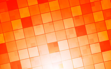 square warm color and hot color background abstract art vector