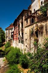 Old town of Granada, Spain