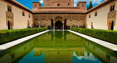 Garden of the Alhambra, Spain