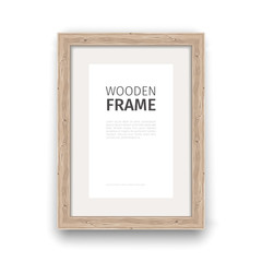 Wooden Rectangle Frame