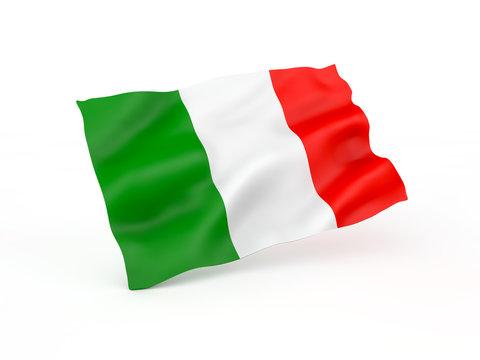 flag. 3D illustration