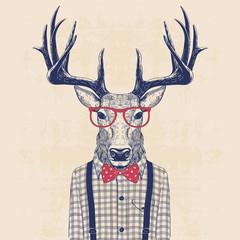 nerd deer
