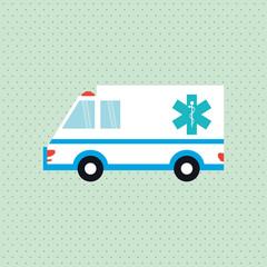 Flat illustration about medical care design