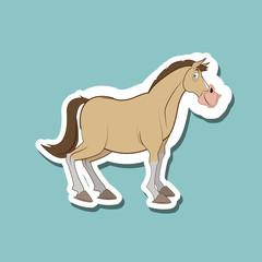 Farm design. animal icon. nature concept, vector illustration
