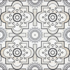 Beautiful ceramic tiles patterns handcraft from thailand In the