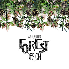 Endless forest design