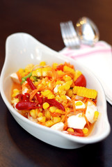 Corn Spicy Salad