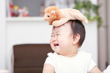 かわいい赤ちゃん 笑顔
