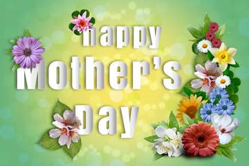 Dzień Matki - wiosenne kwiaty