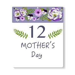 Floral background/card