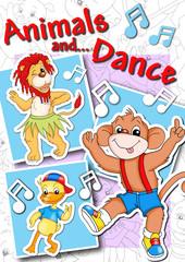 copertina, animali ballerini
