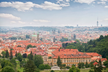 Czech Republic. View of Prague