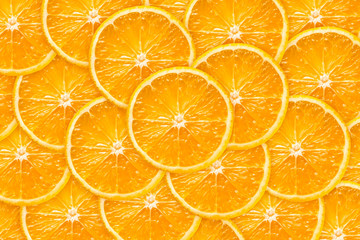 Orange slice background