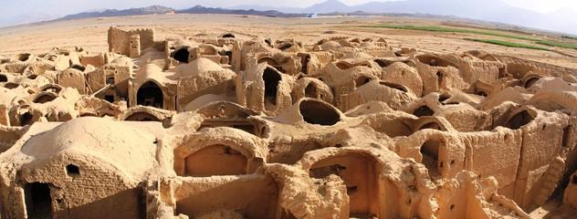 Sar Yazd, ancienne cité caravanière fortifiée, Iran