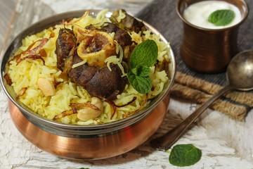 Lamb biryani / Mutton Biryani