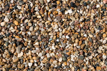 beach stones background