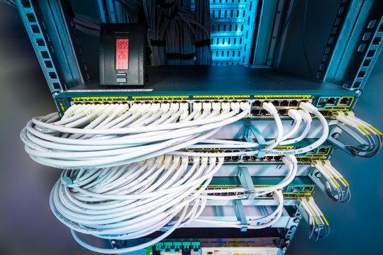 Armoire Connectique