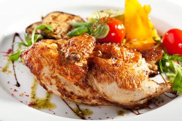 Chicken Tabaka Dish