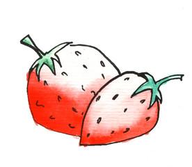 Erdbeeren Marmelade, Etiket