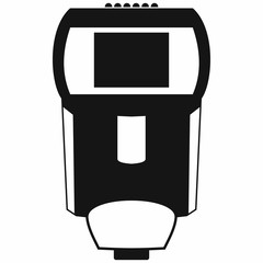 Remote flash icon, simple style