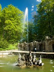 Springbrunnen Eremitage Bayreuth