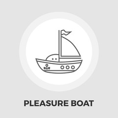 Pleasure Boat Icon