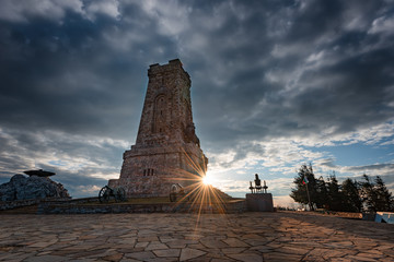 "Shipka Monument (aka ""Monument of The Liberty"") is a monumental construction, located at Shipka summit in Stara Planina mountain, near town of Shipka."
