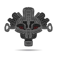 Ornament of ancient Incas, Aztecs